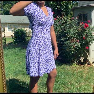 MICHEAL KORS - blue floral dress